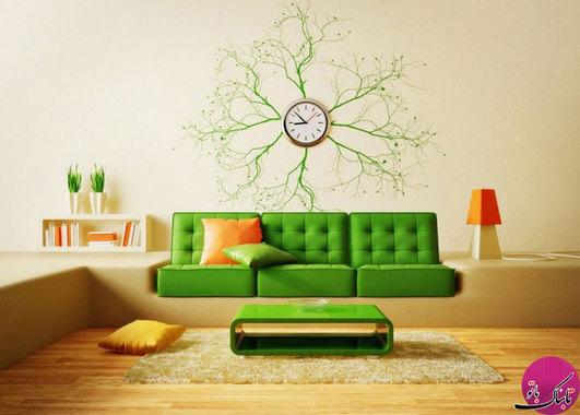 عکس ساعت دیواری با طراحی های خاص و شیک