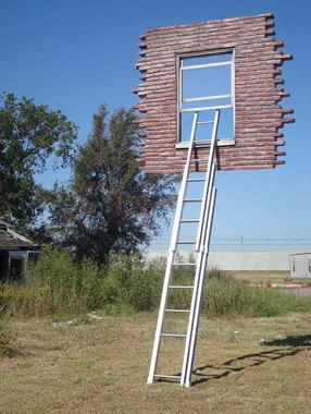 نردبان و پنجره – اثری از لیندرو الریخ